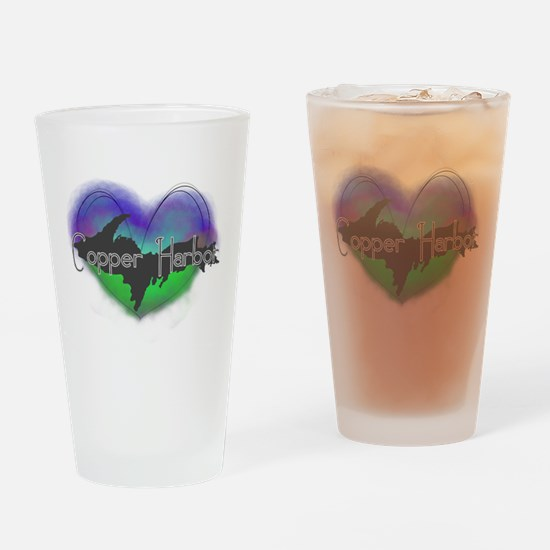 Aurora Copper Harbor Drinking Glass