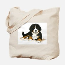 Bernese Mountain Dog Bright Eyes Tote Bag