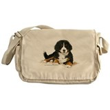 Bernese mountain dog Messenger Bags & Laptop Bags