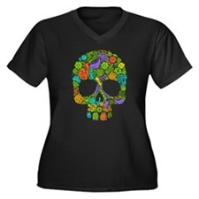 Skull Plus Size T-Shirt