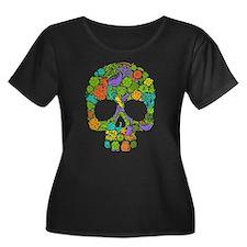 Skull Plus Size T-Shirt