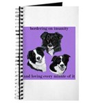 Bordering on Insanity (Border Collies) Journal