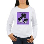 Bordering on Insanity (Border Collies) Women's Lon