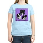 Bordering on Insanity (Border Collies) Women's Pin