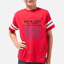 Get a Life - Gamer Shirt Youth Football Shirt
