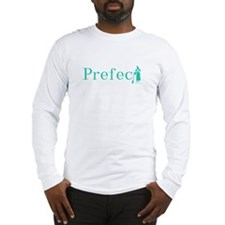 Practically Prefect! Turquoise Long Sleeve T-Shirt