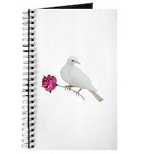 Dove Rose Journal
