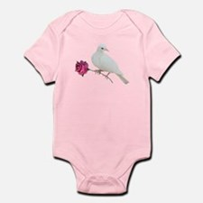 Dove Rose Infant Bodysuit