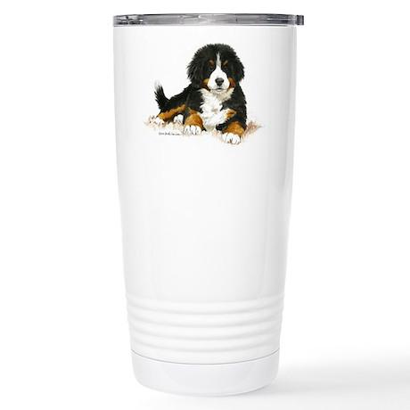 Bernese Mountain Dog Bright Eyes Travel Mug