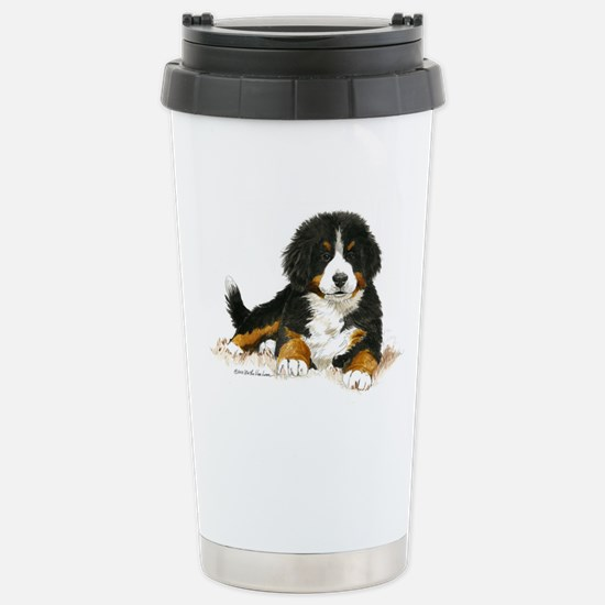 Bernese Mountain Dog Bright Eyes Travel Mug