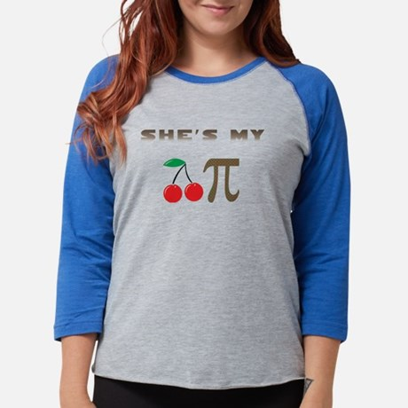 Cherry Pie Womens Baseball Tee