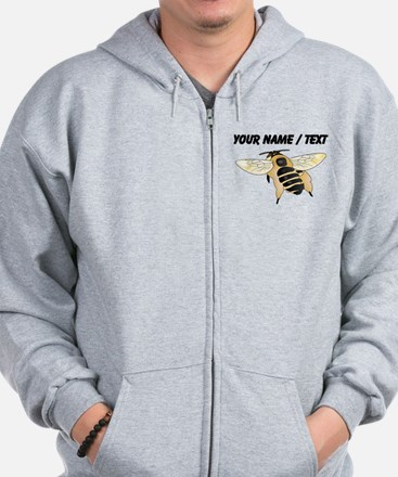 Custom Wasp Zip Hoody