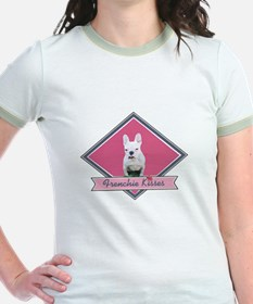 Frenchie Kisses-Pink T