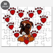 Boxer Dog Love Puzzle
