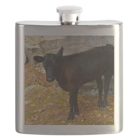 Vermont calf Flask