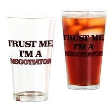 Trust Me, I'm a Negotiator Drinking Glass
