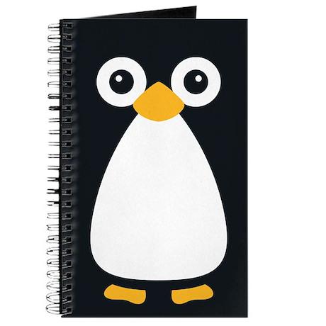 Cute Vector Penguin Journal