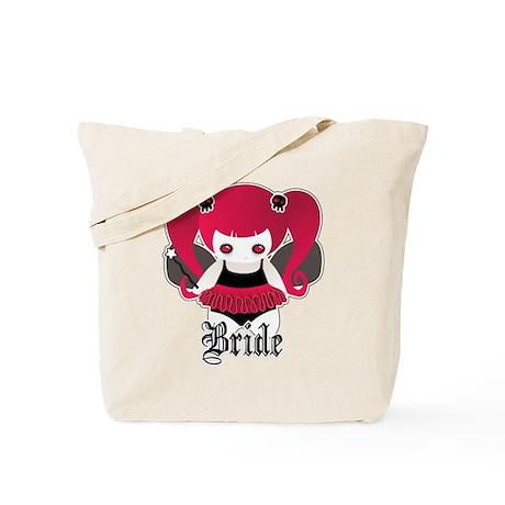 Cute Goth Bride Tote Bag
