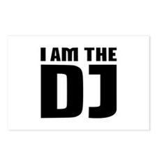 I am the DJ Postcards (Package of 8)
