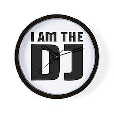 I am the DJ Wall Clock