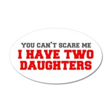 two-daughters-fresh-gray-red-3000 Wall Decal