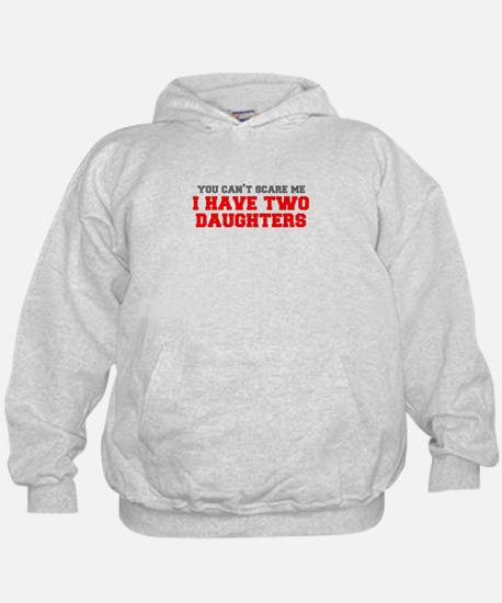 two-daughters-fresh-gray-red-3000 Hoodie