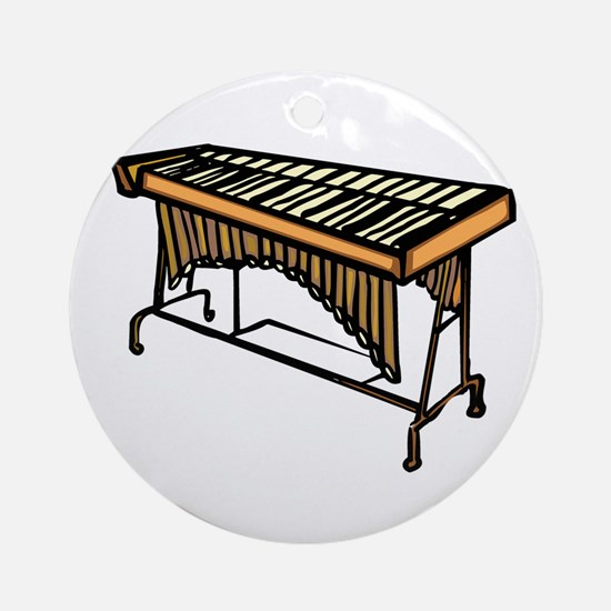 vibraphone simple instrument design Ornament (Roun