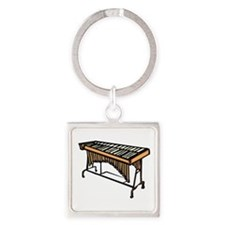 vibraphone simple instrument design Keychains