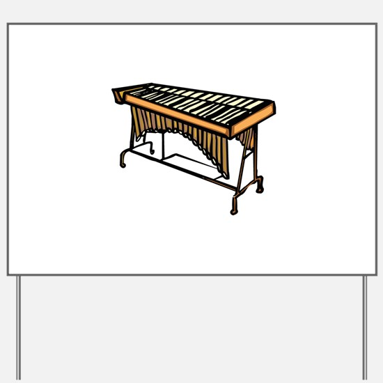 vibraphone simple instrument design Yard Sign