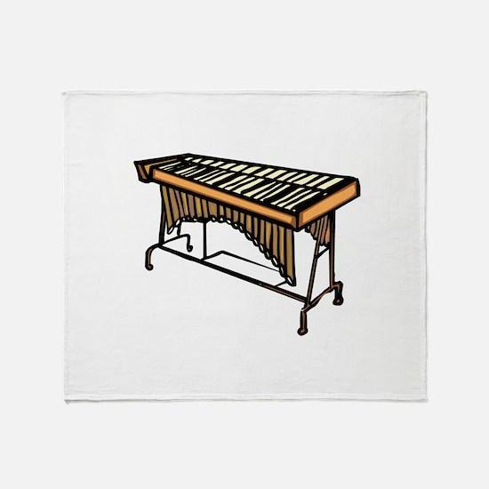 vibraphone simple instrument design Throw Blanket