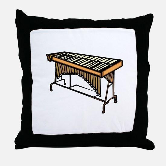 vibraphone simple instrument design Throw Pillow