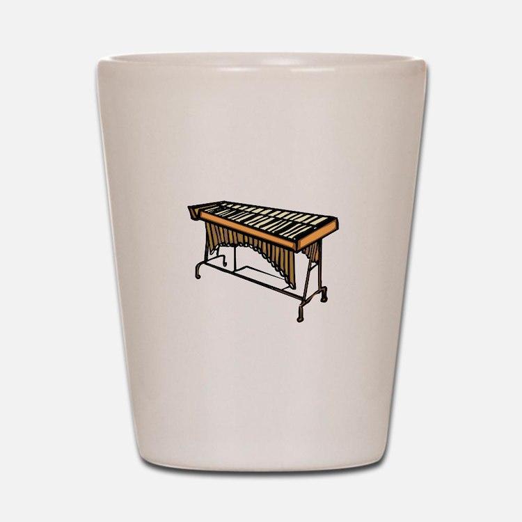 vibraphone simple instrument design Shot Glass