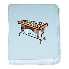 vibraphone simple instrument design baby blanket