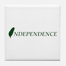 Taiwan Independence Tile Coaster