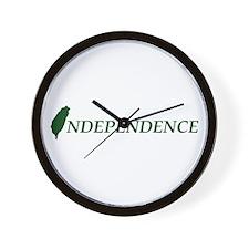 Taiwan Independence Wall Clock