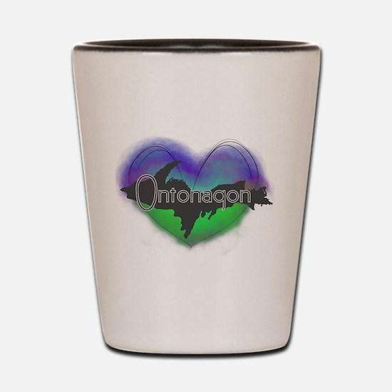 Aurora Ontonagon Shot Glass