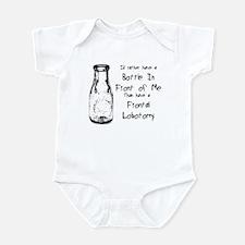 Frontal Lobotomy Infant Bodysuit