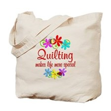 Quilting is Special Tote Bag