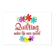 Quilting is Special Postcards (Package of 8)