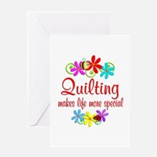 Quilting is Special Greeting Card