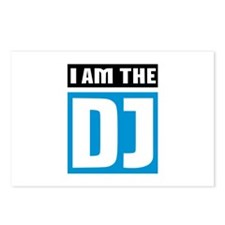 I am the DJ Music Postcards (Package of 8)