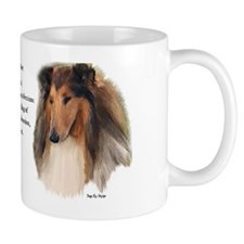 Rough Collie Love Is Mug