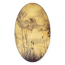 Fairy's Tightrope by Arthur Rackham Decal