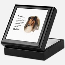 Rough Collie Gifts Keepsake Box
