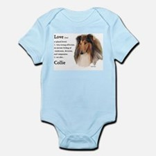 Rough Collie Gifts Infant Bodysuit