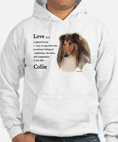 Rough Collie Gifts Hoodie