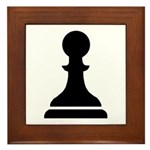 Pawn Framed Tile