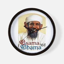 Osama Obama '08 Wall Clock
