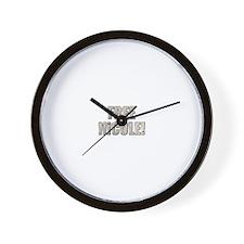 Free Nicole! Wall Clock