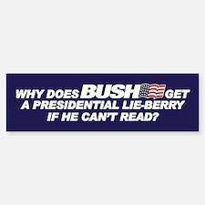 PRESIDENTIAL LIE-BERRY Bumper Bumper Bumper Sticker